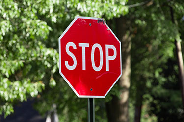 What Should You do if You Get a Ticket for Running a Stop Sign